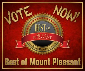 Vote in this year's  Best of Mount Pleasant!