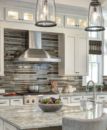 Arthur Rutenberg Homes: closer in photo of the kitchen